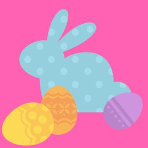 Schokohasen, bunte Eier und hoppelnde Osterspots
