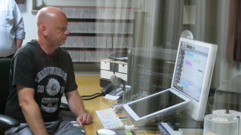 Verkaufsleiter Andreas Hille bei der P&P Studioführung