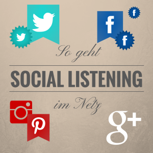 The Sound of the Social Net – Social Listening