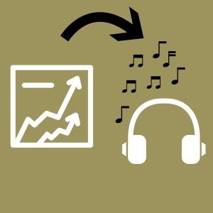Datensätze werden zu Musik