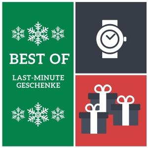 Die 5 besten Last-Minute Geschenkideen zu Weihnachten