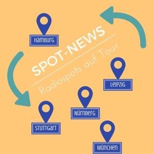 Spot-News: Radiospots auf Tour