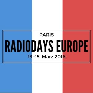 Die Radiodays Europe 2016