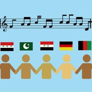 Musik verbindet – Musikprojekte mit Flüchtlingen