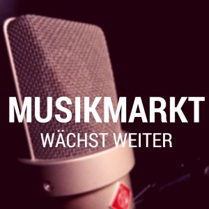 Deutscher Musikmarkt wächst und wächst