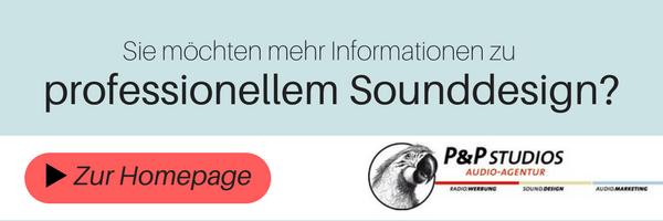 Professionelles Sounddesign von der P&P Studios Audio-Agentur in Regensburg