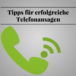 Die besten Tipps für erfolgreiche Telefonansagen