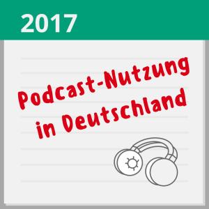 Podcast-Nutzung in Deutschland 2017