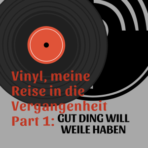 Vinyl, meine Reise in die Vergangenheit Part 1: Gut Ding will Weile haben