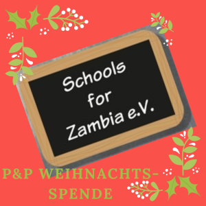 "P&P-Weihnachtsspende für den ""Schools for Zambia e.V."""