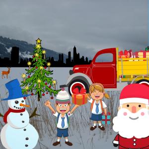 P&P- Weihnachtsspende für den Johanniter - Weihnachtstrucker